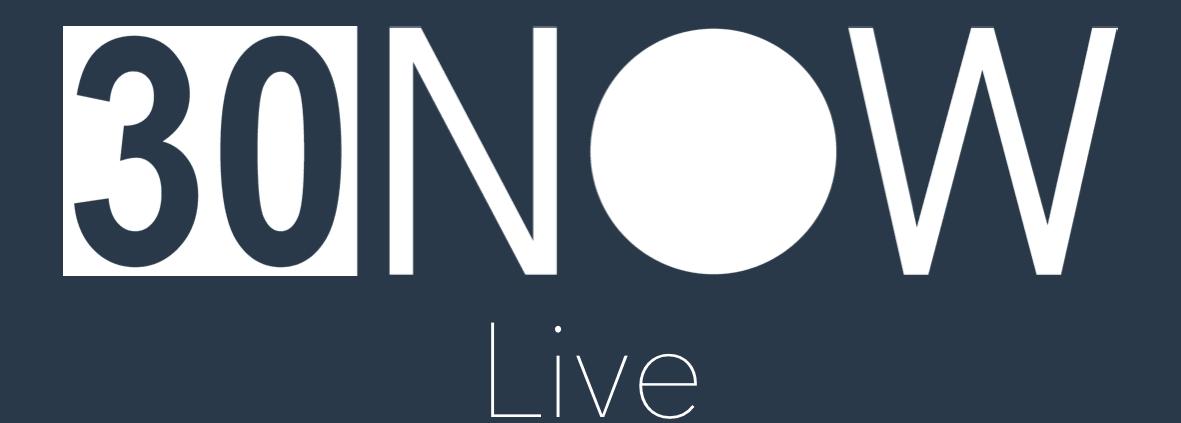 30NOW Live logo