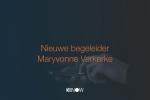 Nieuwe begeleider: Maryvonne Verkerke